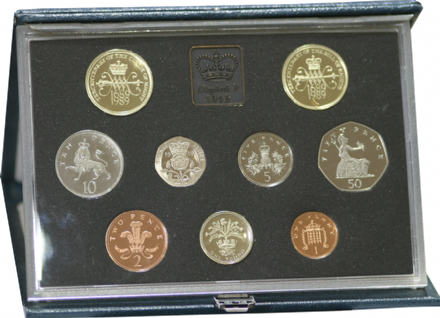 1989 Official Royal Mint Proof Set